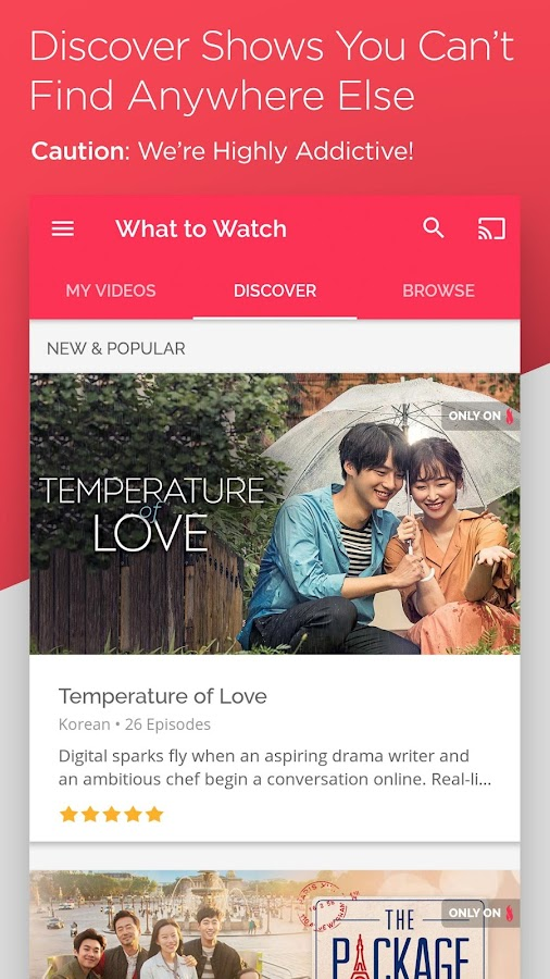 DramaFever: Stream Asian Drama Shows & Movies 01 01 69 APK Download