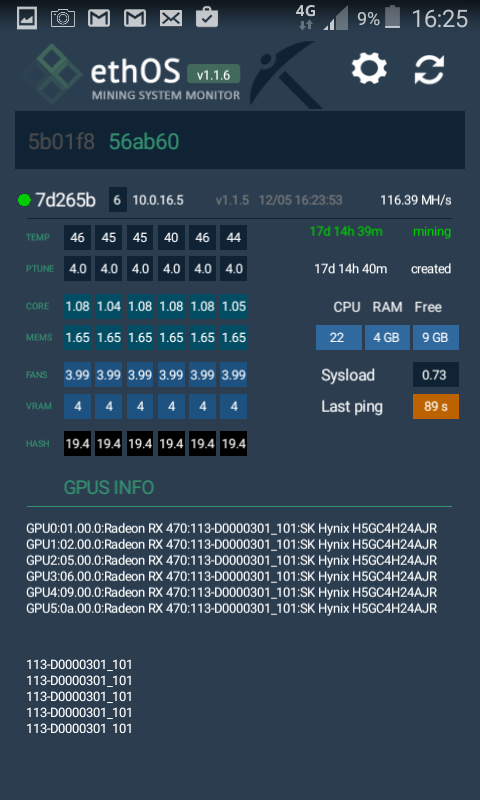 ethOS - Mining System Monitor 2 0 7 APK Download - Android Tools Apps