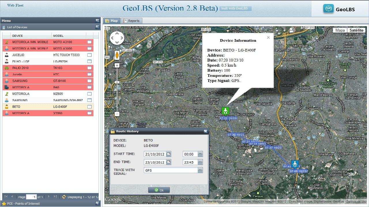 GPS Tracker Web & SMS Trial 3 0 APK Download - Android