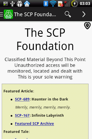 The SCP Foundation DB donate 2 2 6 APK Download - Android