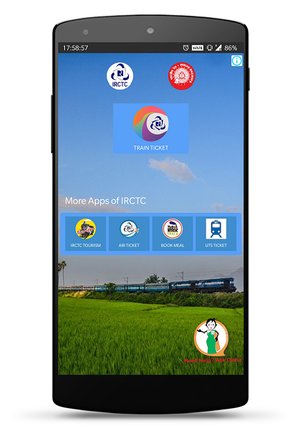 IRCTC Rail Connect 2 1 52 APK Download - Android Travel