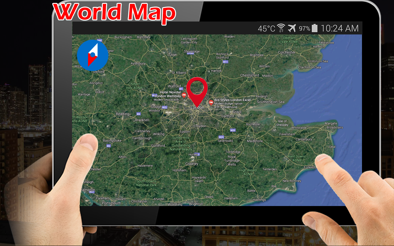 earth map live gps speedometer navigation 127 screenshot 4