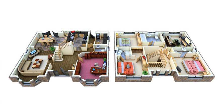 3D Home Floor Plan Designs 1.0 APK Download