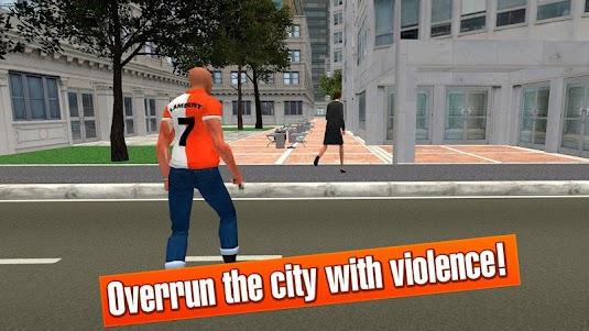 California Crime City Race 3D 1.1 screenshot 4