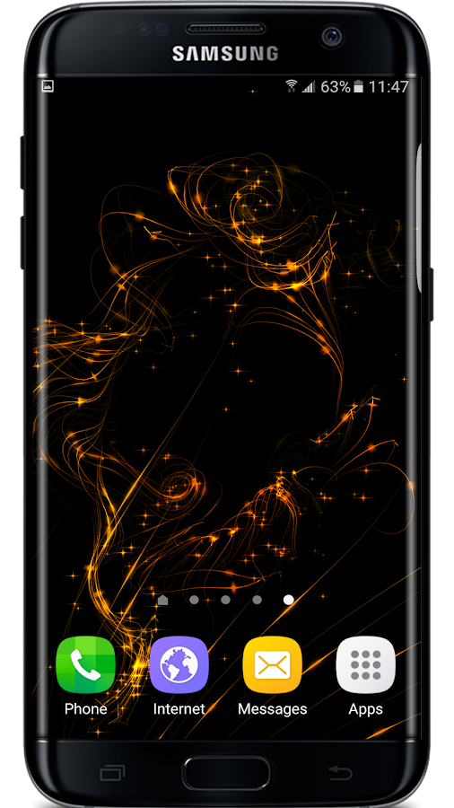 Golden Particle Live Wallpaper 103 Apk Download Android