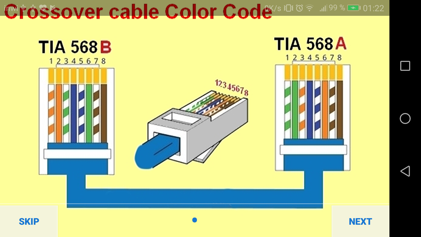 Electrical Wiring Diagram 10 Apk Download Android Education Apps Cable Displays The End To Pinout For A Crossover Screenshot 6