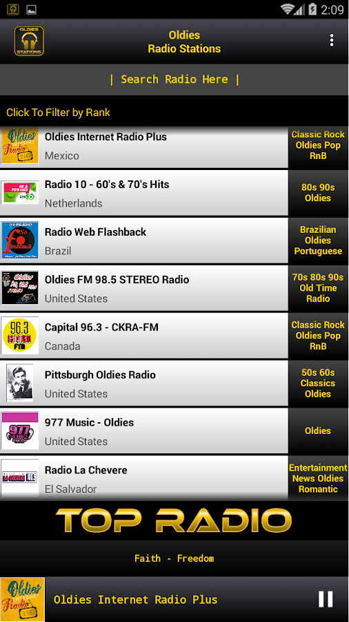 Oldies Radio Stations 1 APK Download - Android Music & Audio