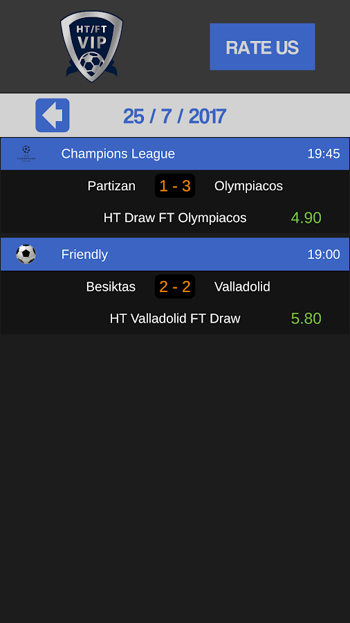 Betting Tips Half Time Full Time 3 0 APK Download - Android Sports Games