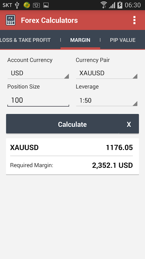 Forex income calculator