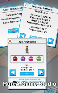 Game Studio Tycoon  screenshot 2