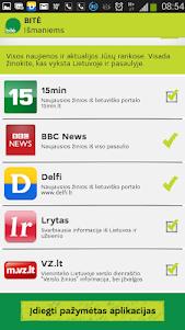 BITĖ išmaniems 1.1.1 screenshot 2