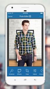 Man Shirt Photo Editor 3.0.9 screenshot 4