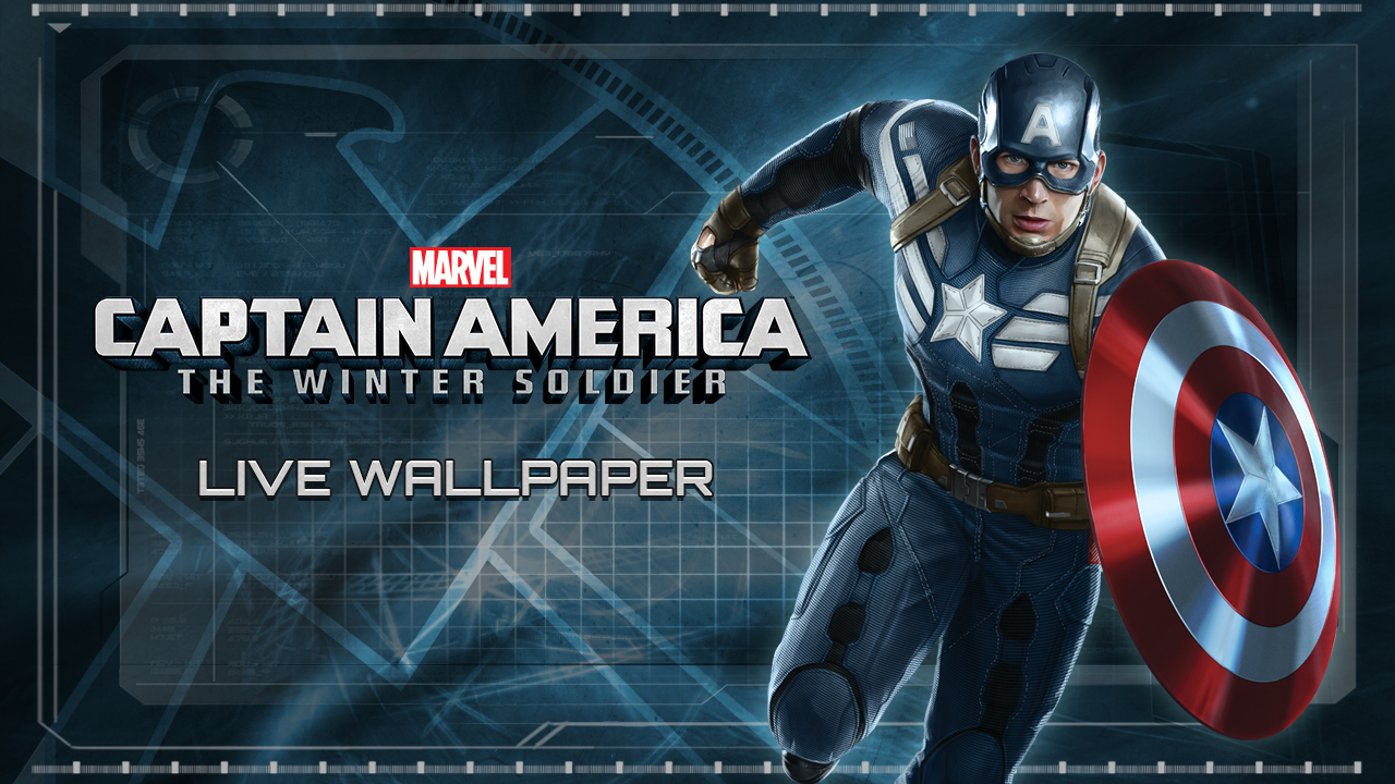 Captain America Tws Live Wp 1 2 Apk Download Android