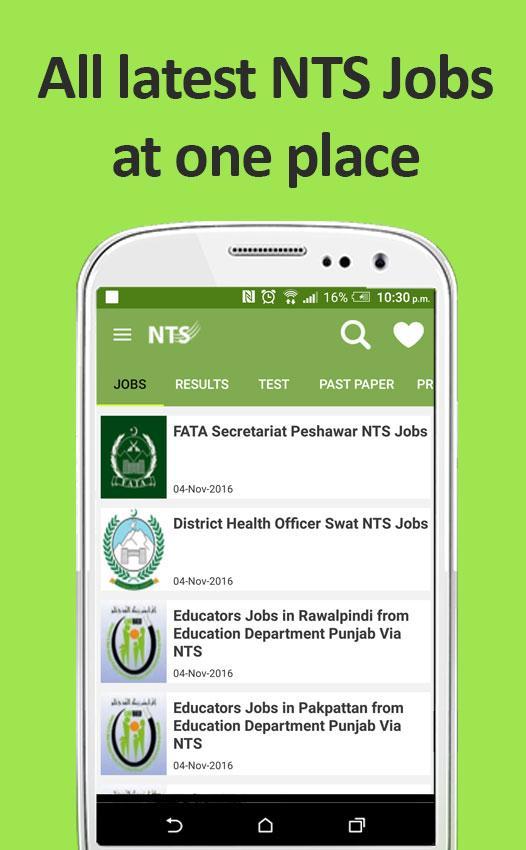 NTS Test Preparation, Jobs & NTS MCQs 2 9 APK Download - Android