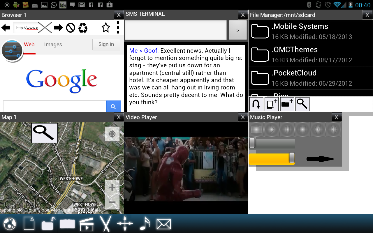 Split View Multi Screen Tablet 17 2 APK Download - Android