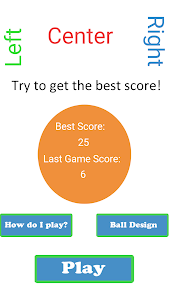Left Right Center 2.1.0 screenshot 1