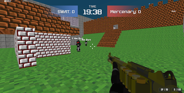 Combat Pixel Arena 3D - Fury Man 1.4 screenshot 9