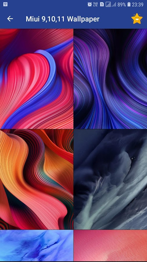Stock Wallpaper For Miui 91011 105 Apk Download Android