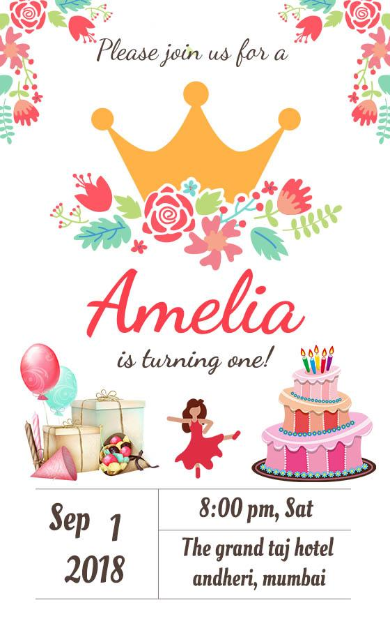 Birthday Invitation Card Maker 1 1 12 Apk Download Android