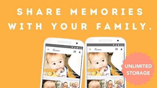 Famm - photo & video storage for baby and kids. 3.10.0 screenshot 5