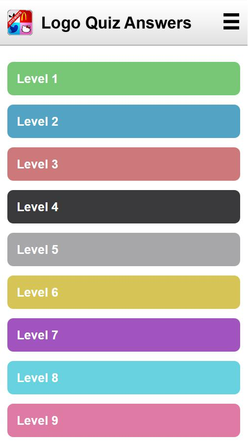 Answers for Logo Quiz 1.3 APK Download - Android Trivia Games