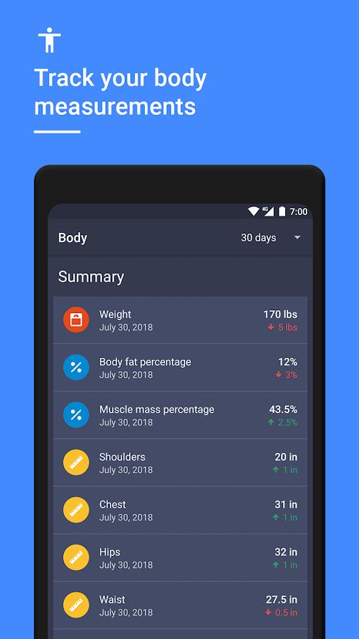 daily strength weight training workout planner 1221 screenshot 7