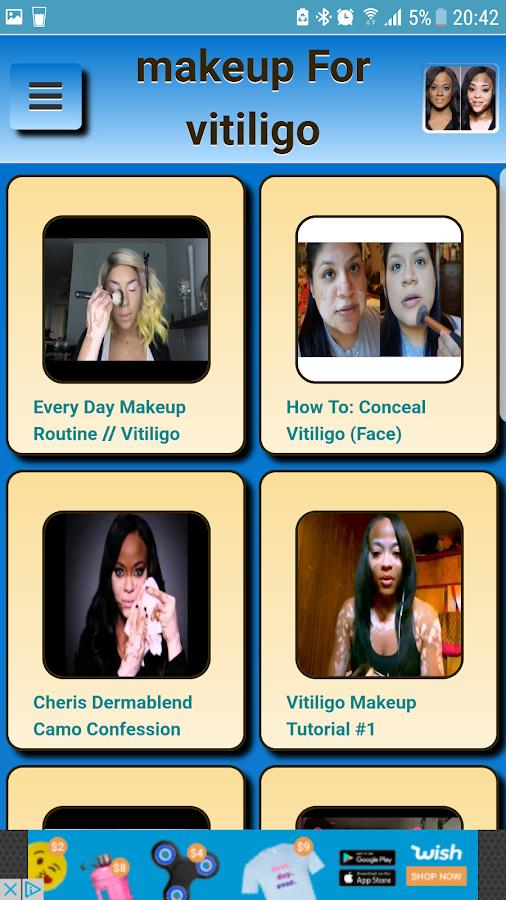 Makeup for vitiligo 1.0.0 screenshot 1 ...