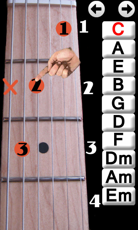 Learn Guitar Chords 2.0 APK Download - Android Education Apps