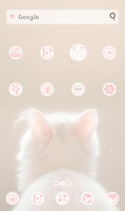 happy cat 도돌런처 테마 4.1 screenshot 1
