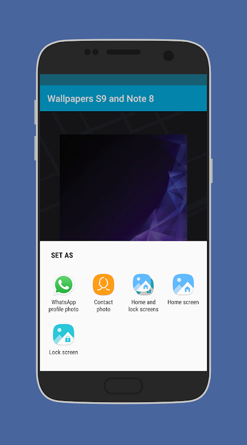 ... Wallpapers S9 and Note 8 4.2 screenshot 6 ...