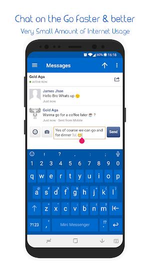 Mini Messenger For Facebook Lite 1 0 2 APK Download