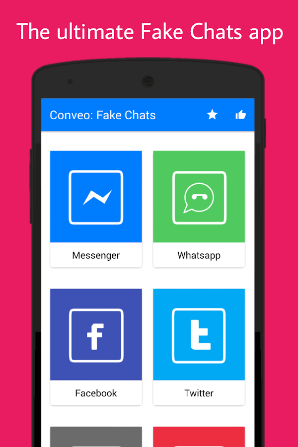 Simulator fake app chat How to