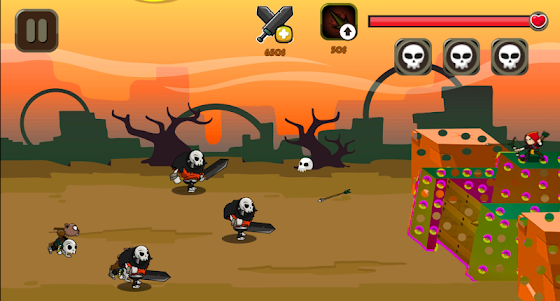 Monster Attack on Fort 1.4 screenshot 4