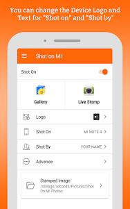 ShotOn for Mi: Add Shot on Stamp to Gallery Photo 1.4 screenshot 11