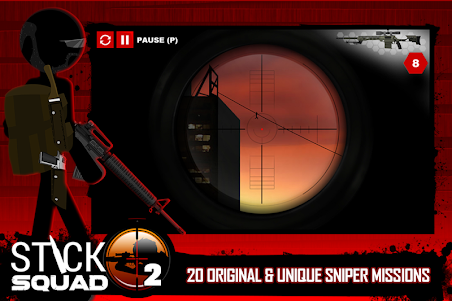 Stick Squad 2 - Shooting Elite 1.3.3 screenshot 2