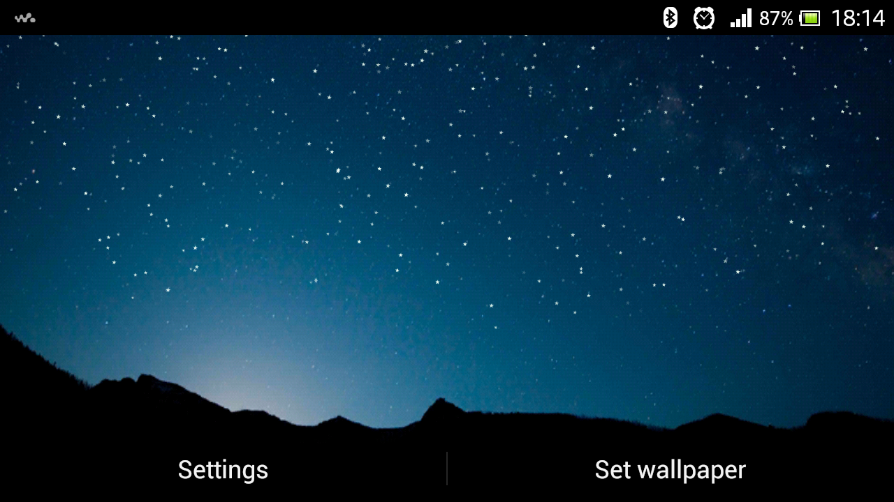 shooting stars live wallpaper 1.0 apk download - android