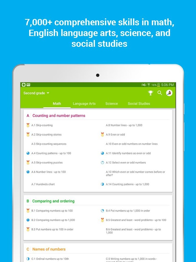 IXL 2.3.5 APK Download - Android Education Apps