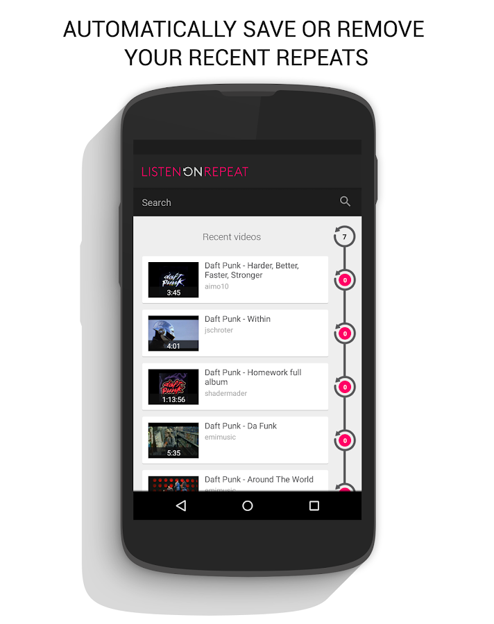 how to download videos in listenonrepeat