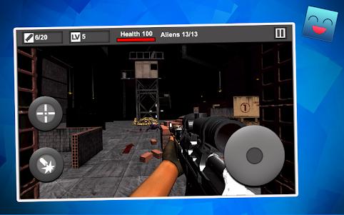 Free Shooter Alien War 1.1 screenshot 1