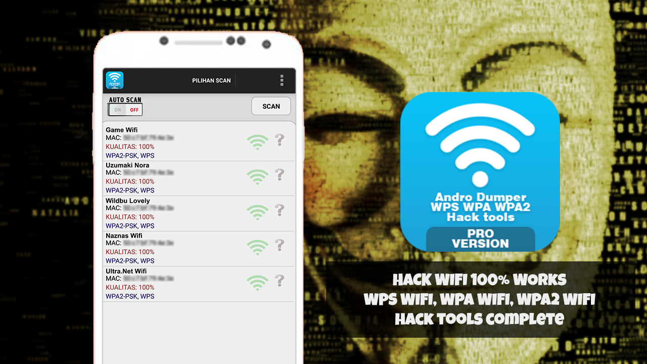 Hack Wifi Prank WPS AndroDumper Tools 1 0 0 APK Download - Android