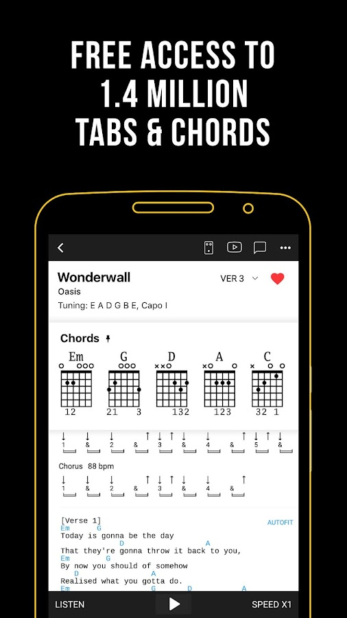 ultimate guitar chords tabs apk download android music audio apps. Black Bedroom Furniture Sets. Home Design Ideas