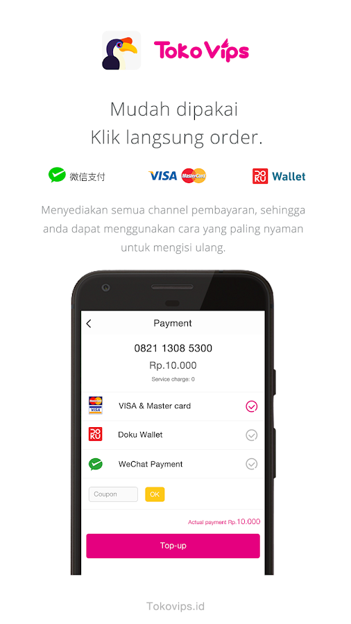Tokovips - merchant 1.0.1 APK Download - Android Shopping Apps f9f5aa1a32