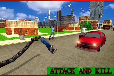 Angry Anaconda Attack Sim 3D 1.0 screenshot 3