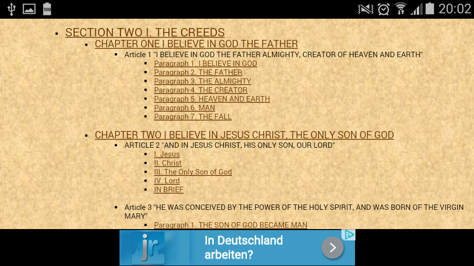 Catechism the catholic church 1 apk download android books catechism the catholic church 1 screenshot 20 fandeluxe Images