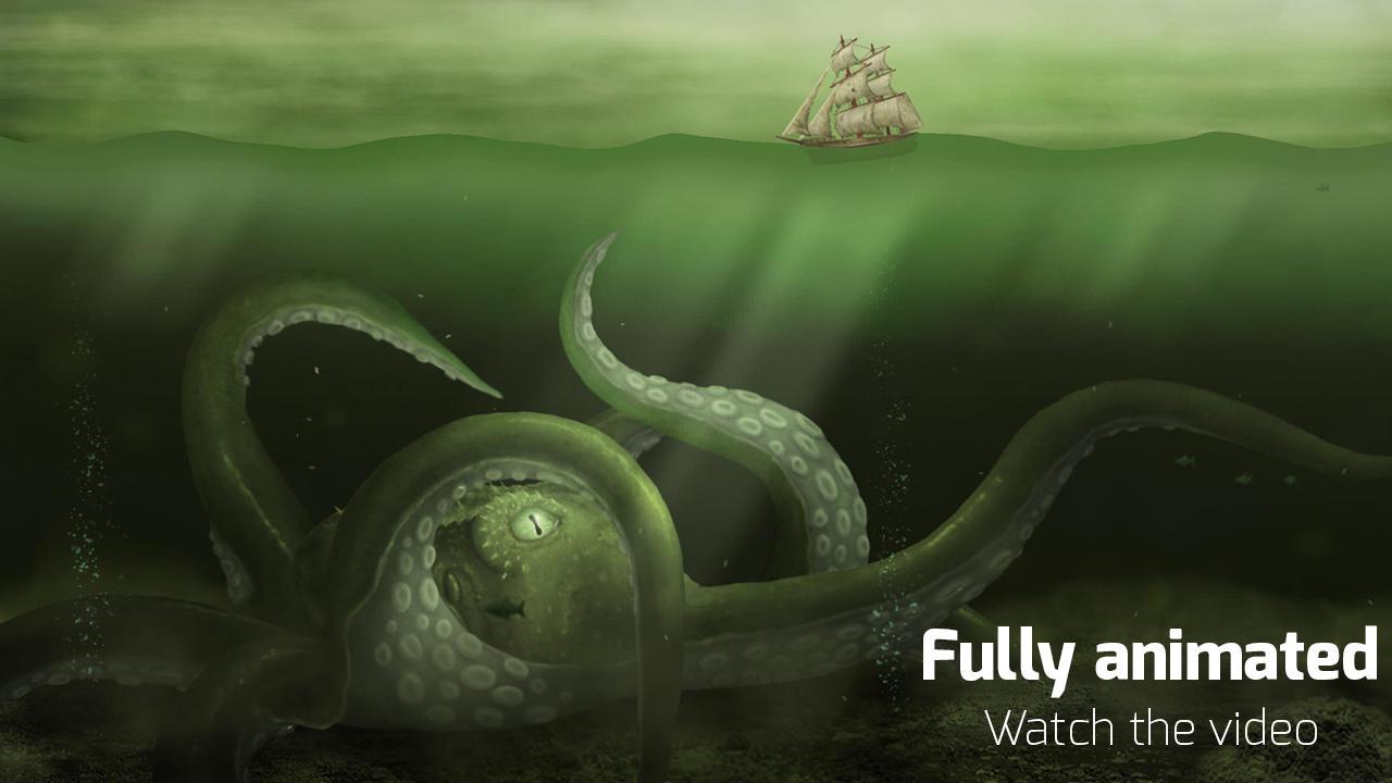 Kraken Live Wallpaper 103 Screenshot 5