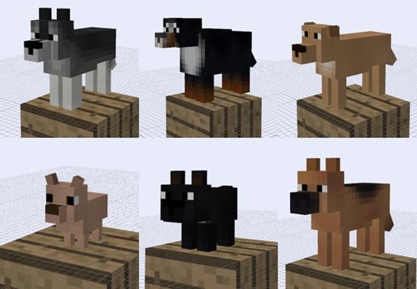 Майнкрафт моды собаки