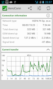 AeroConn - network monitoring  screenshot 1