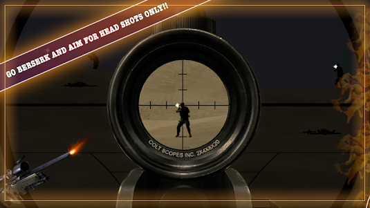 American Sniper Shooter - HERO 1.2 screenshot 2