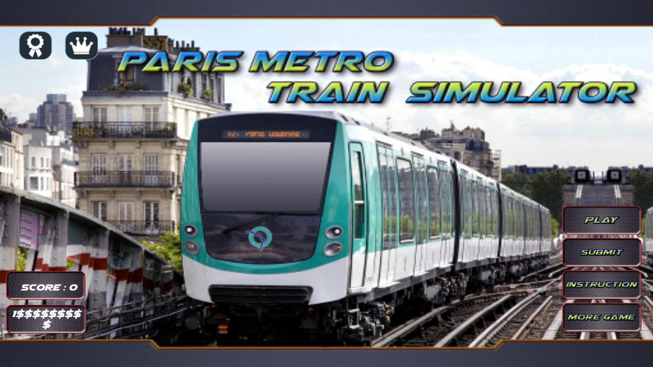 paris metro train simulator 1 1 apk download android simulation games. Black Bedroom Furniture Sets. Home Design Ideas