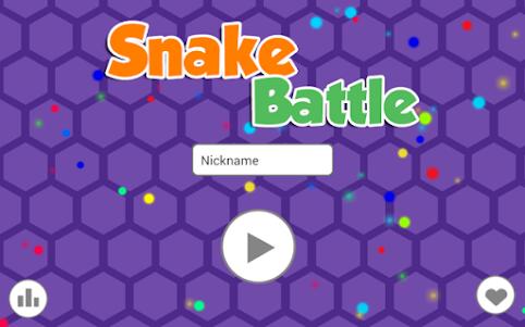 Snake Battle 1.1 screenshot 1